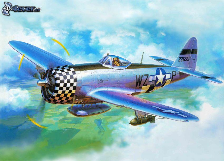 aereo, Seconda guerra mondiale