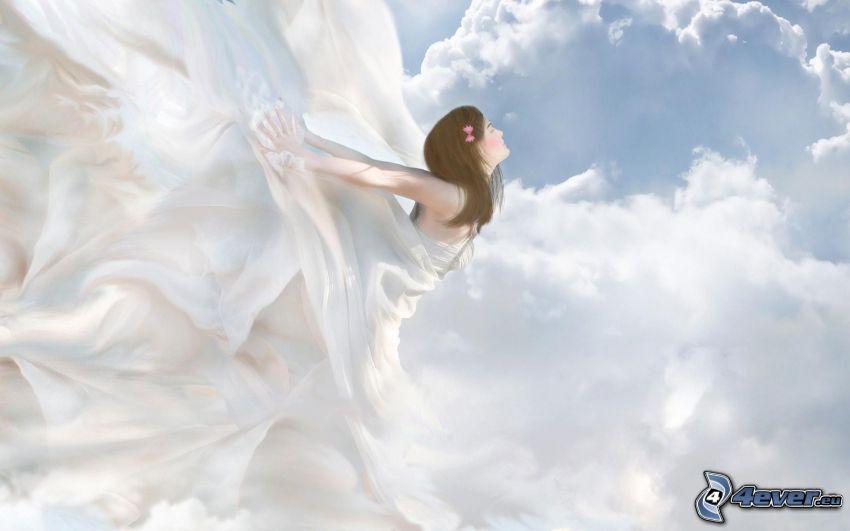 angelo, nuvole