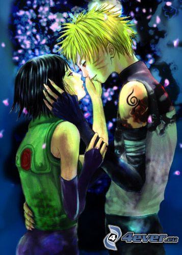 Naruto, Hinata, amore