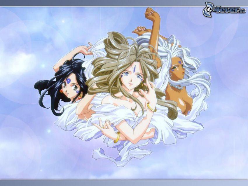 Oh My Goddess!, manga
