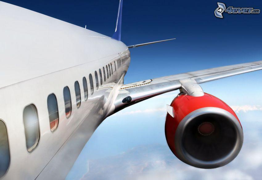 aereo, motore