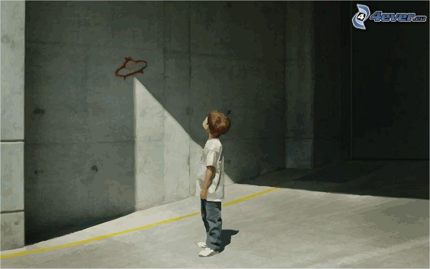 bambino, alieni
