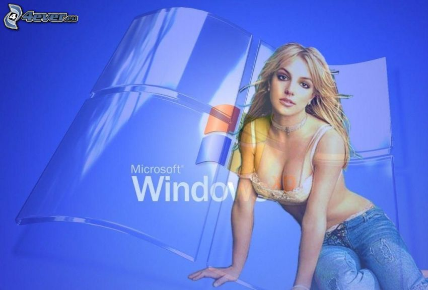 Britney Spears, Windows XP