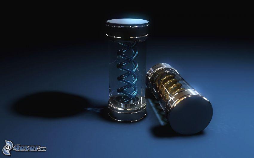 cilindri astratti, spirale