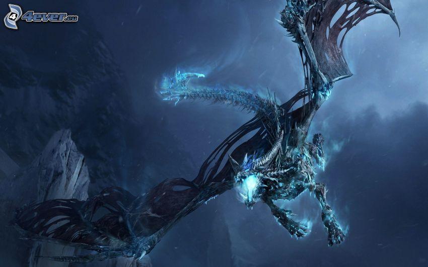 dragone volante