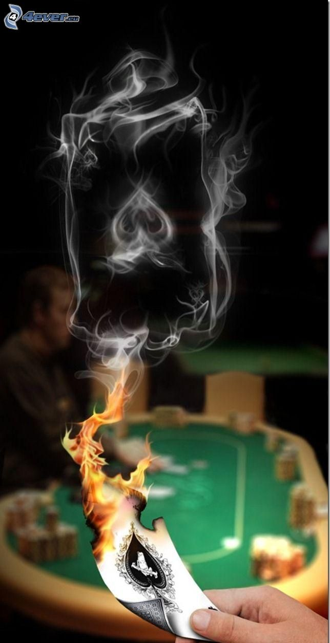 fumo, carta, fiamma, mano