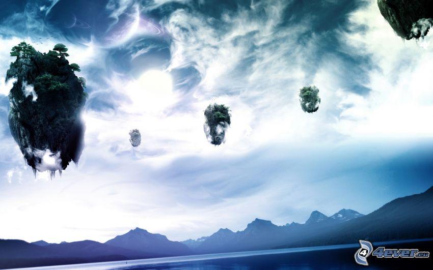 isole volanti, Avatar, Pandora