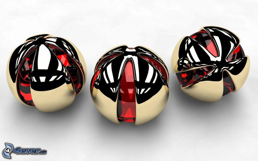 palle metalliche