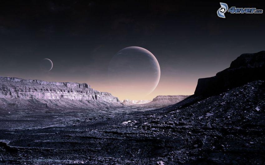 rocce, pianeti