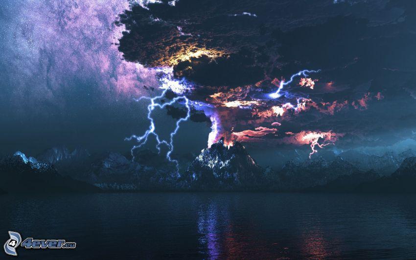tempesta, vortice
