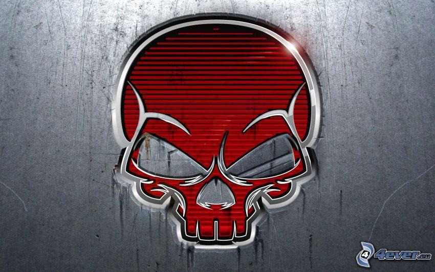 cranio, rabbia
