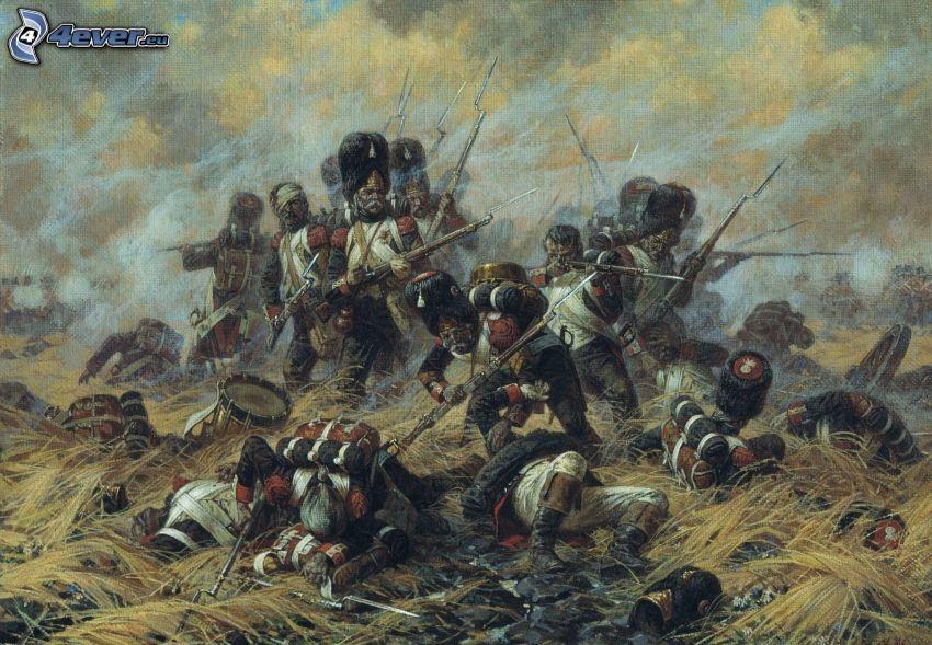 battaglia, guerrieri