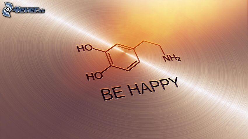 be happy, formula
