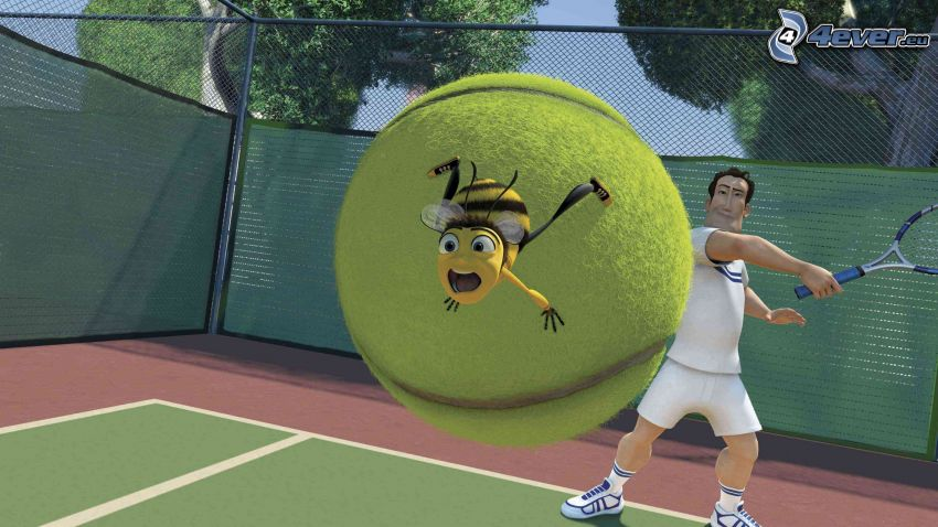 Bee movie, tennis