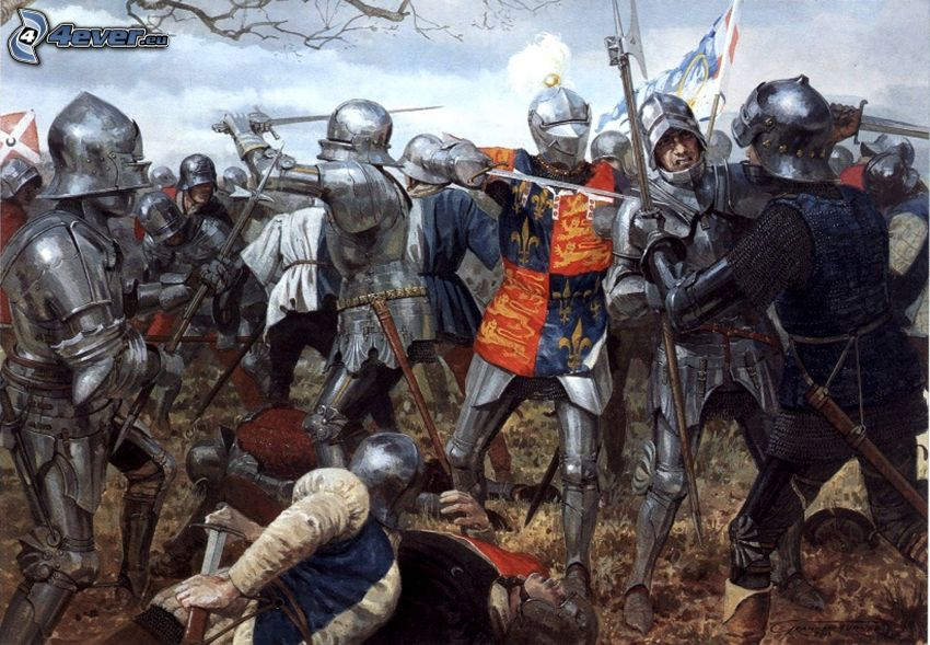cavalieri, battaglia