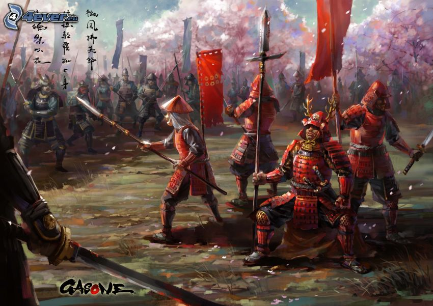 cavalieri, Cina