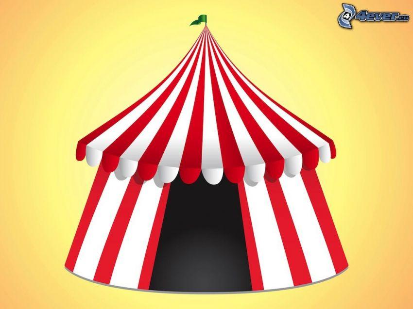 circo, tenda
