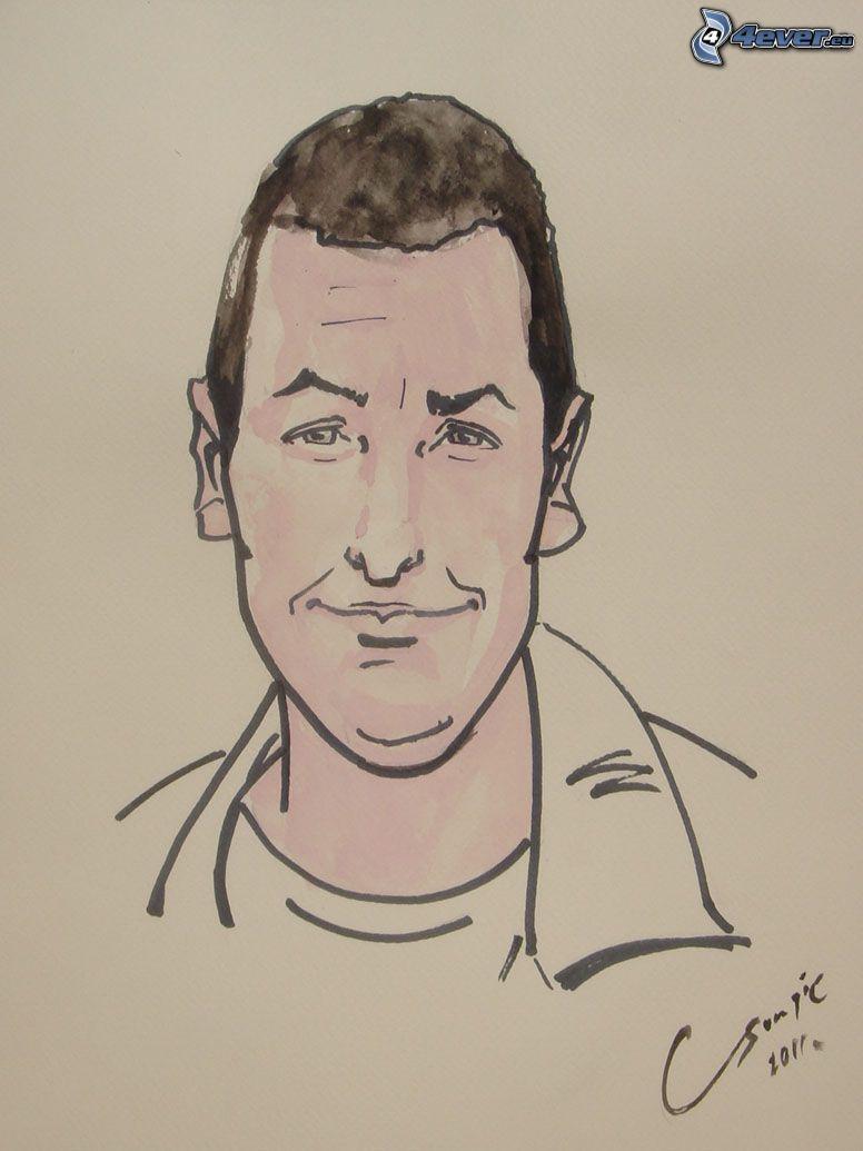 Adam Sandler, caricatura