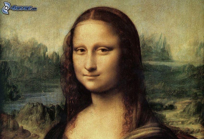 Mona Lisa, pittura