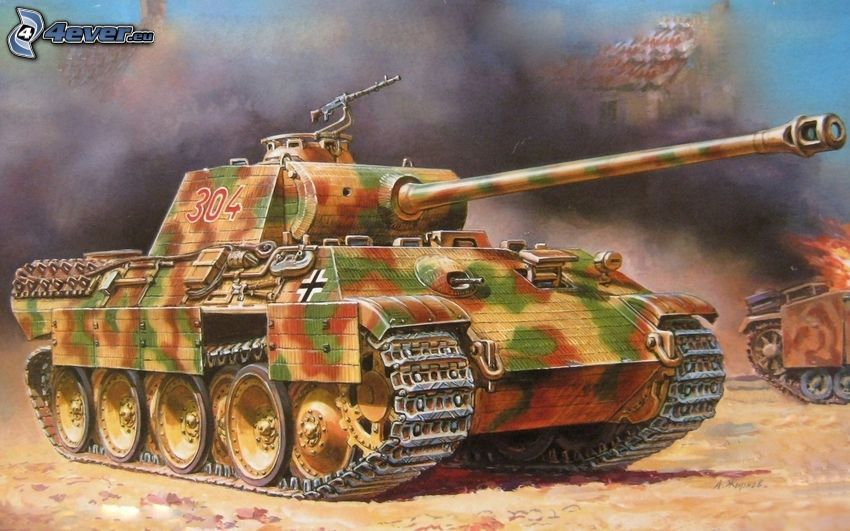 panther, carro armato, Seconda guerra mondiale