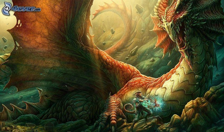 drago disegnato