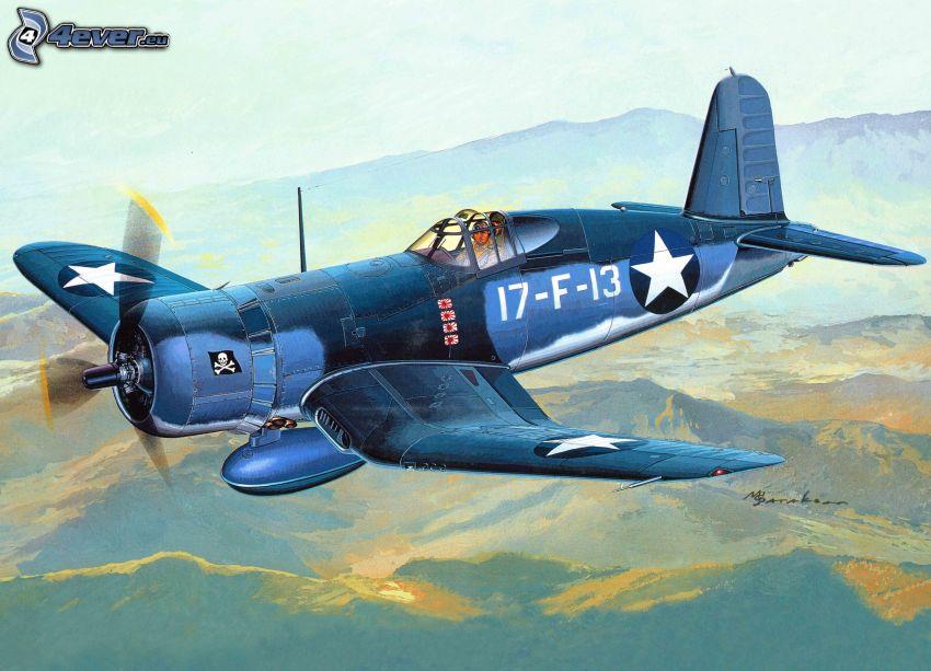 F4U Corsair, aereo da caccia, Seconda guerra mondiale