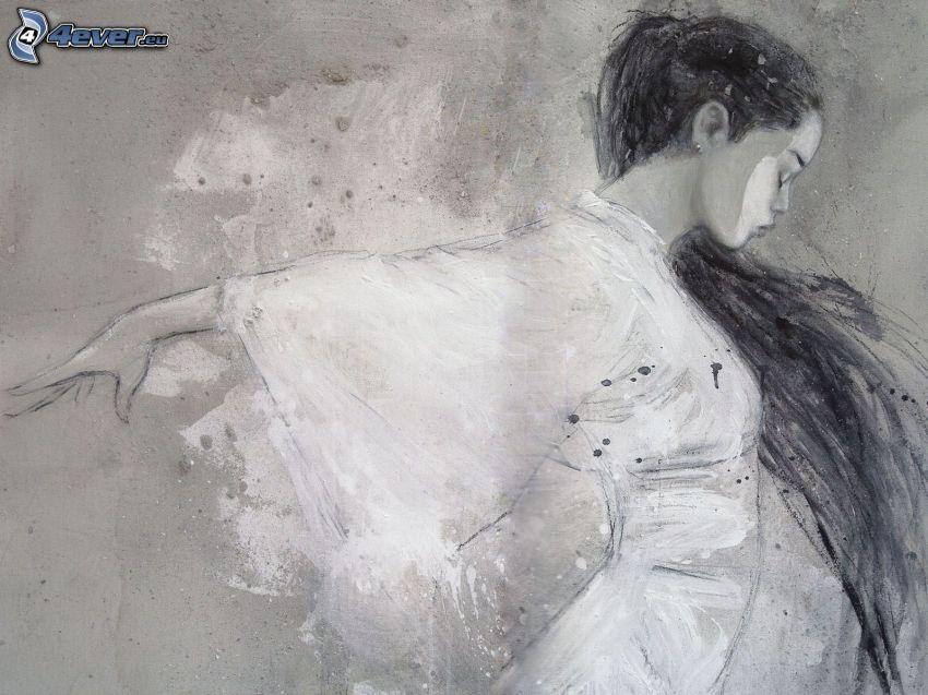 fantasy, Luis Royo, donna cinese