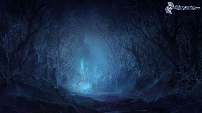 foresta dipinta