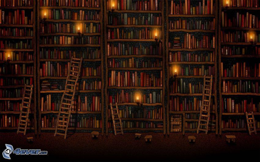 grande biblioteca