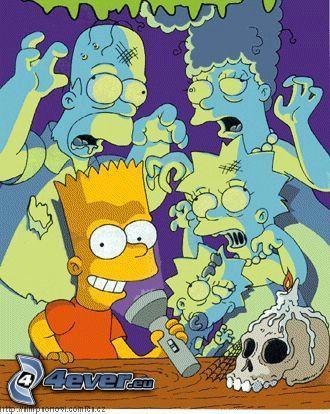 I Simpson, spiriti