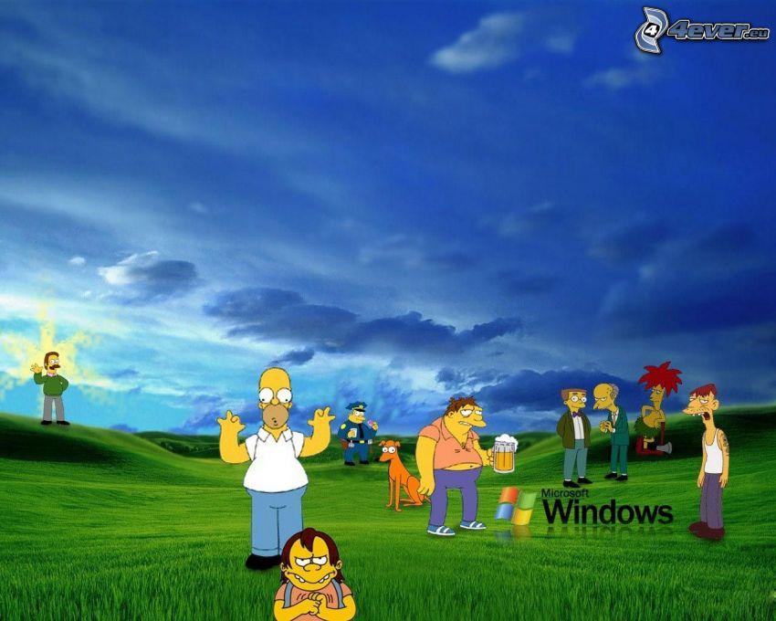 I Simpson, Windows