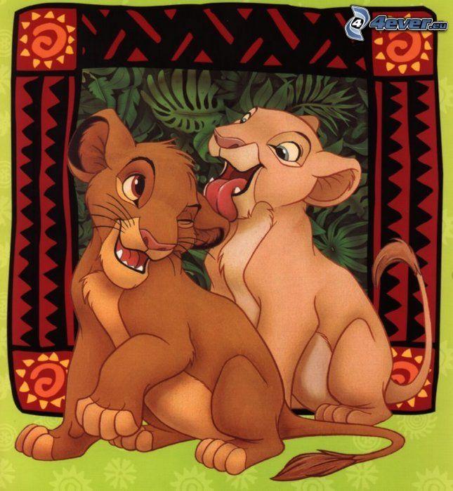Il re leone, The Lion King, Simba, Nala, Fiaba