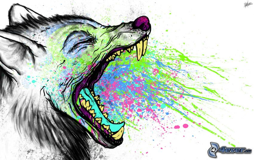 lupo, urlo