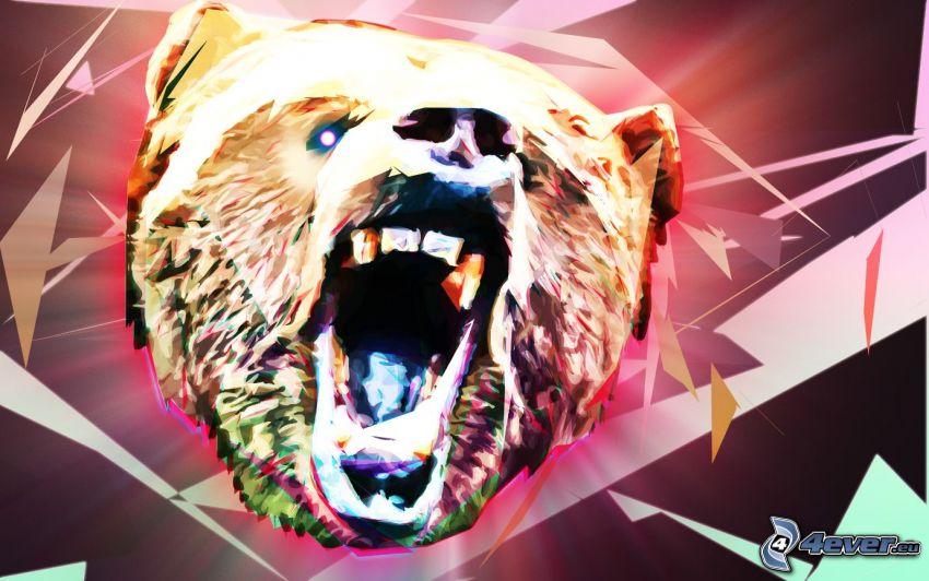 orso, urlo