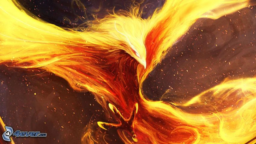 Phénix, uccello di fuoco