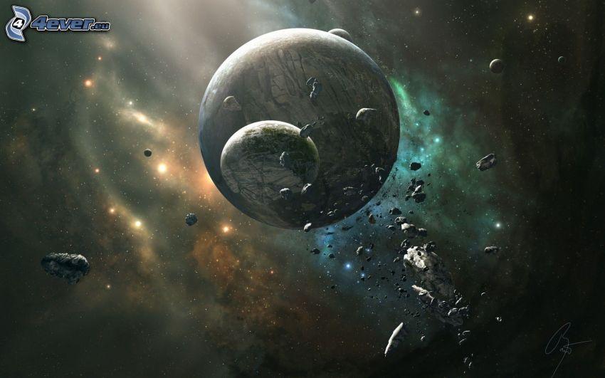 pianeti, asteroidi