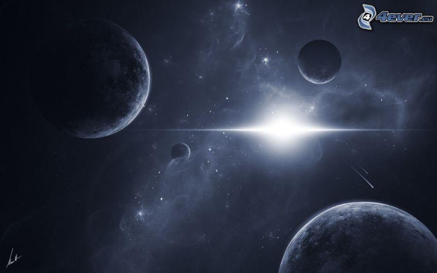 pianeti, sole