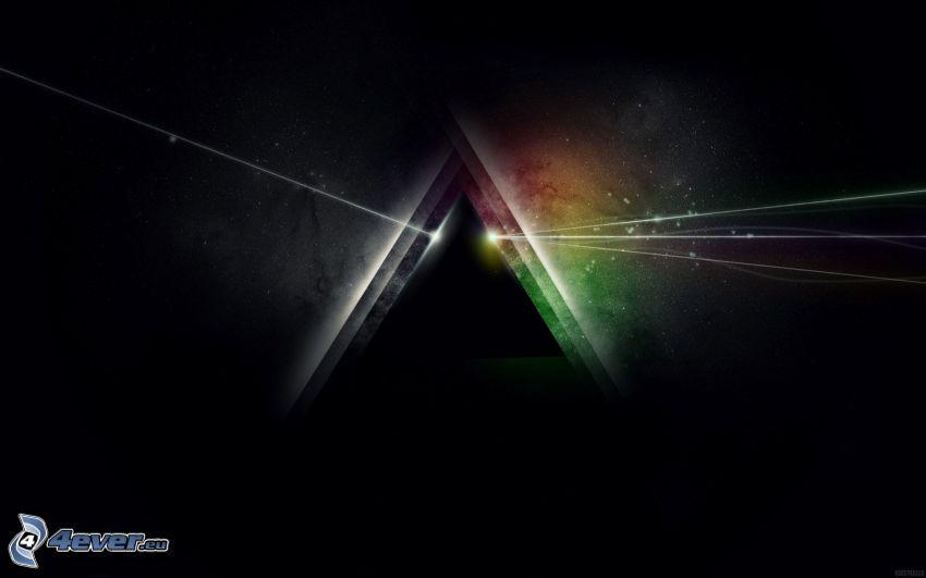 piramide, linee