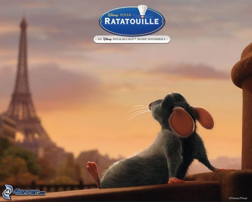 Ratatouille, Torre Eiffel