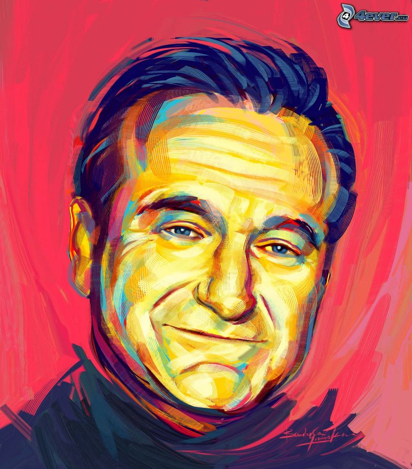 Robin Williams, pittura