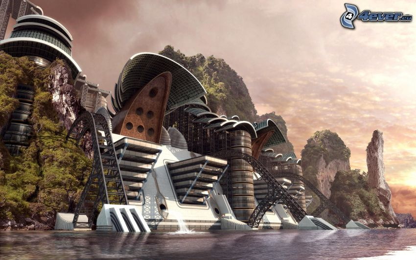 sci-fi paesaggio