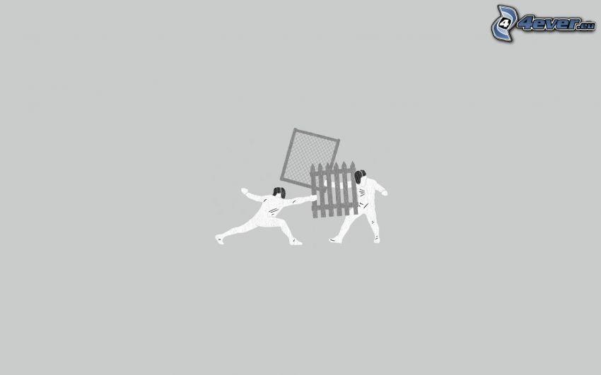 spadaccini, recinzione