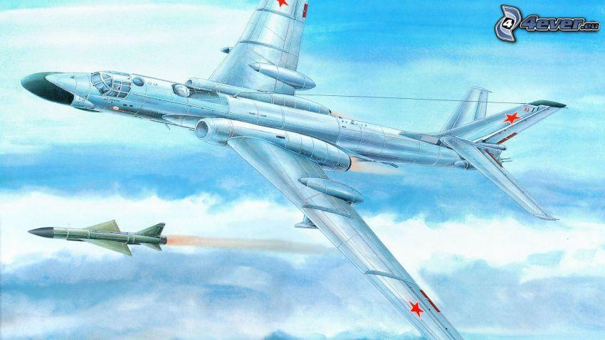 Tupolev Tu-160, missile