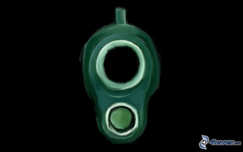 volata della pistola