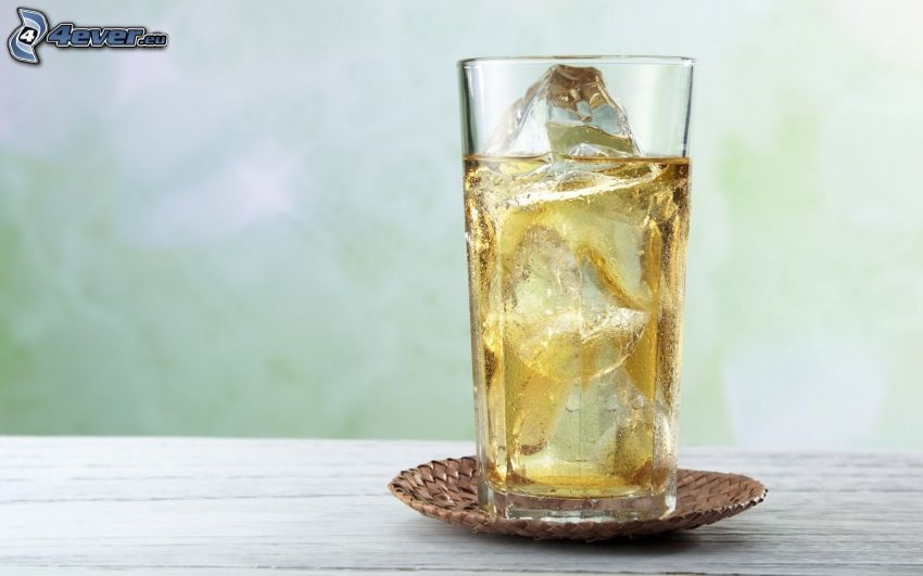 bevanda, ghiaccio, tazza