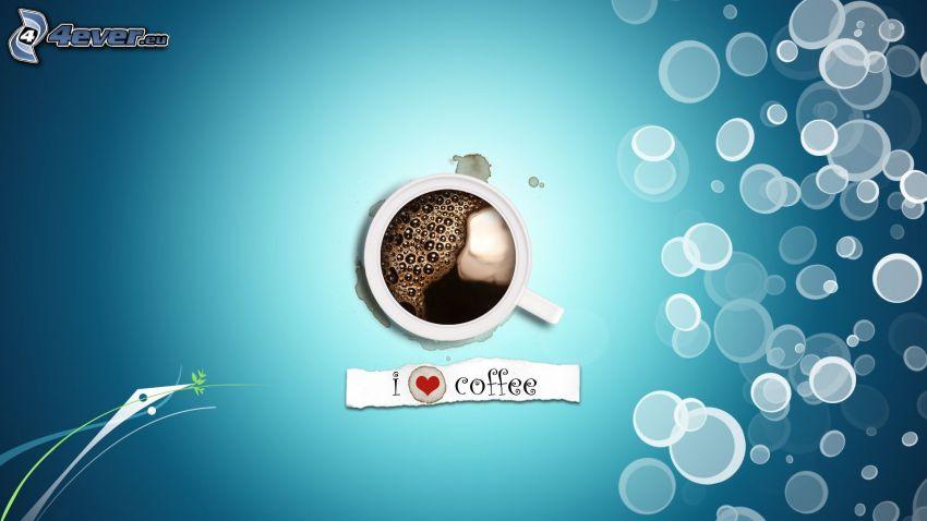 caffè, bolle