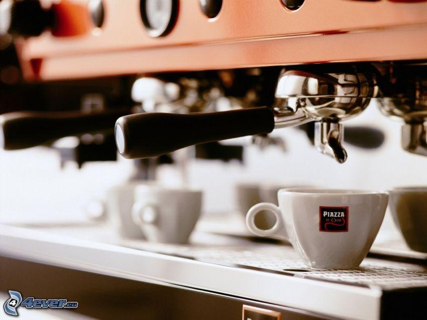 caffè, macchina da caffè