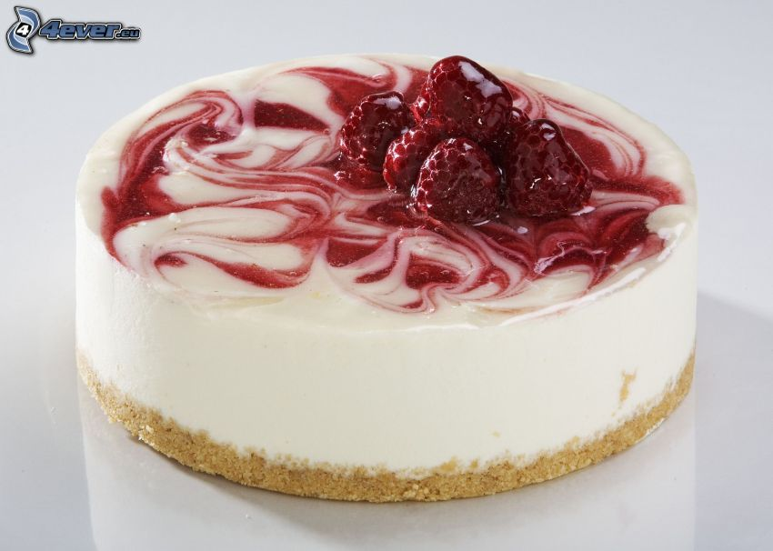 cheesecake, fragole