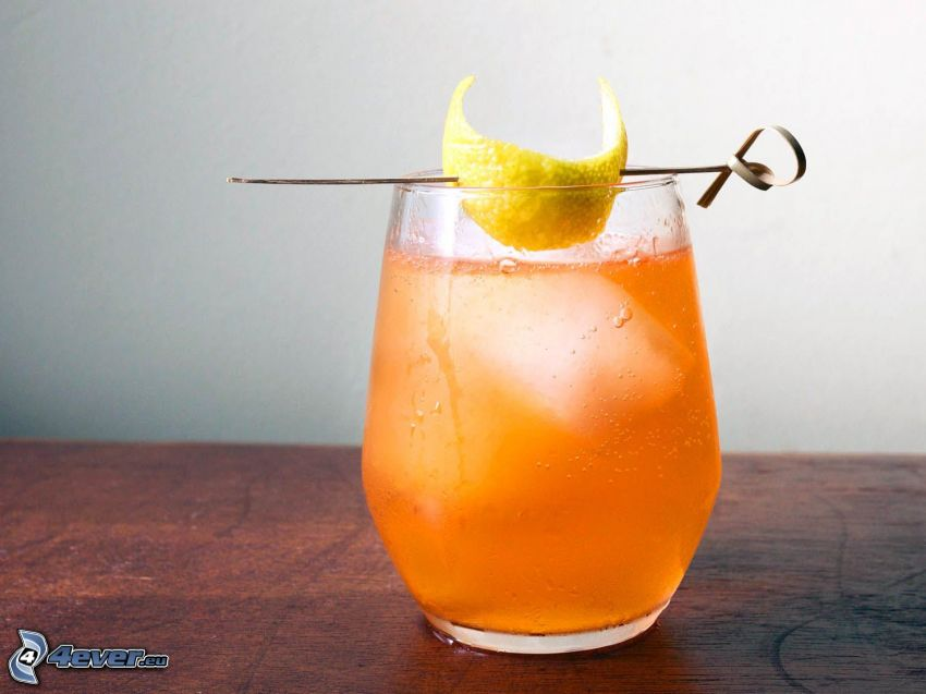 cocktail, limone