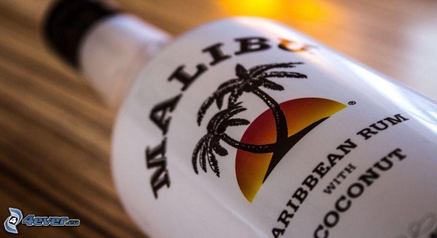 Malibu, bottiglia